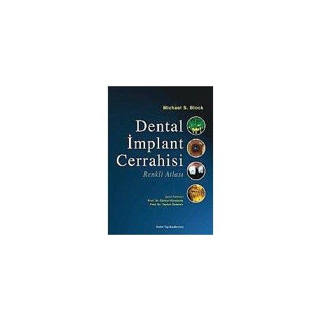 Dental İmplant Cerrahisi Renkli Atlası