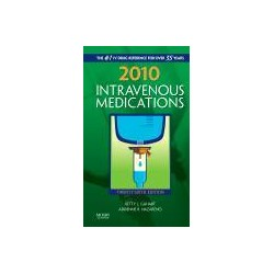 2010 Intravenous Medications, 26th Edition