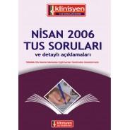 Nisan 2006 Tus Soruları Açıklamalı