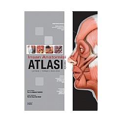 İnsan Anatomisi Atlası (Açıklamalı) Latince - Türkçe - İngilizc