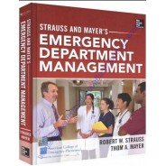 Strauss and Mayer's Emergency Department Management Hardcover