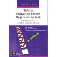 STAHL'IN PSİKİYATRİDE KENDİNİ DEĞERLENDİRME TESTİ