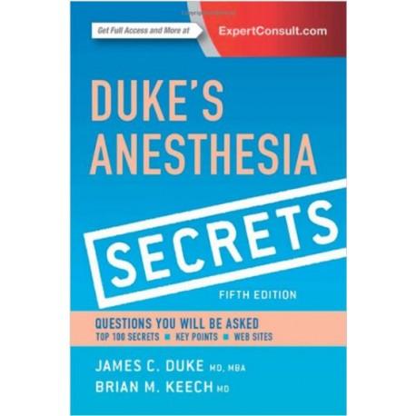 Duke's Anesthesia Secrets, 5th Edition