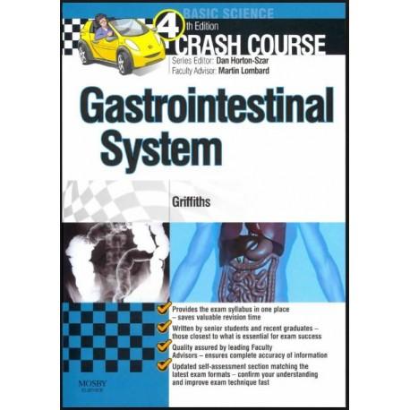 Crash Course Gastrointestinal System, 4th Edition