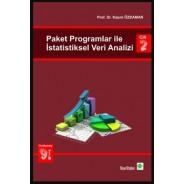 Paket Programlar ile İstatistiksel Veri Analizi Cilt 2, Kazım Özdamar