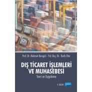 Dış Ticaret İşlemleri ve Muhasebesi
