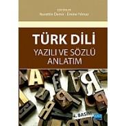 Türk Dili Yazılı ve Anlatım Sözlü Anlatım
