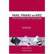 Para, Finans ve Kriz