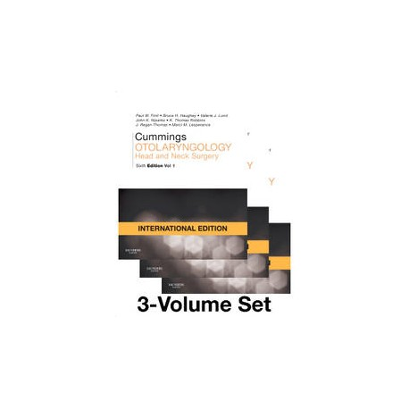 Cummings Otolaryngology - Head and Neck Surgery, 3-Volume Set