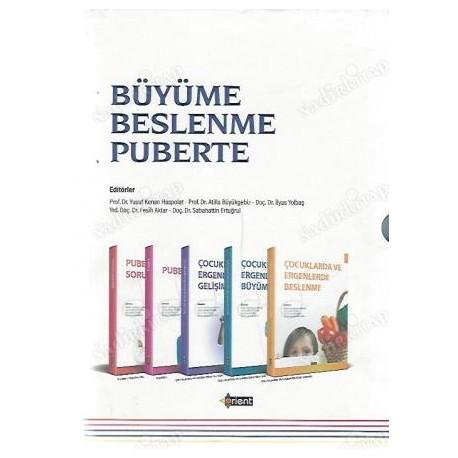 BÜYÜME BESLENME PUBERTE (1-2-3-4-5 CİLT TAM TAKIM ORİJİNAL KUTUSUNDA)