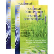 Homeopati Öğreniyorum - Homeopati Ders Notlarım (2 Cilt Takım)