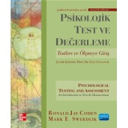 PSİKOLOJİK TEST VE DEĞERLEME - Psychological Testing and Assessment