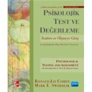 PSİKOLOJİK TEST VE DEĞERLEME - Psychological Testing and Assessment