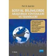 Sosyal Bilimlerde Araştırma Yöntemleri ve Teknikleri