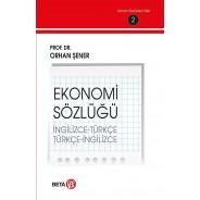 Ekonomi Sözlüğü/İngilizce-Türkçe/Türkçe-İnglizce