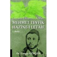 Osmanlı Dönemi Fıkraları - Mehmet Tevfik Hazîne-i Letâif