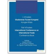 1.InTraders Uluslararası Ticaret Kongresi Kongre Kitabı