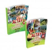 Altay Türkçe Öğreniyorum A2 Set - Yabancılara Türkçe Öğretimi Kitapları