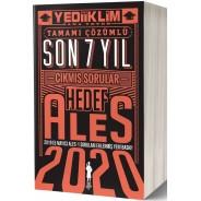 Yediiklim Yayınları 2020 ALES Hedef Son 7 Yıl Tamamı Çözümlü Çıkmış Sorular