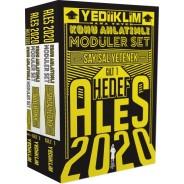 Yediiklim Yayınları 2020 ALES Hedef Konu Anlatımlı Modüler Set