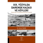 XIX. Yüzyılda Darende Kazası ve Köyleri Fiziki, İdari ve Sosyoekonomik Bir İnceleme