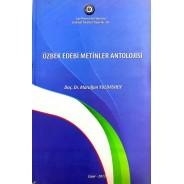 Özbek Edebi Metinler Antolojisi