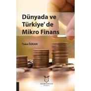 Dünyada ve Türkiye'de Mikro Finans