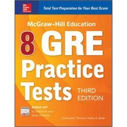 McGraw-Hill Education 8 GRE Practice Tests
