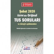 TUS SORULARI - ÖSYM'nin Orjinal ŞUBAT 2020