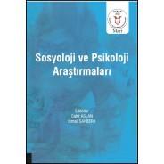 Sosyoloji ve Psikoloji Araştırmaları ( AYBAK 2020 Mart )