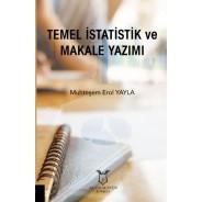Temel İstatistik ve Makale Yazımı