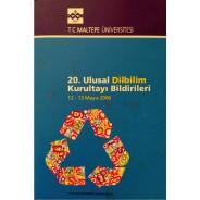 20. Ulusal Dilbilim Kurultayı Bildirileri (12-13 Mayıs 2006)