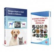 Röntgen Köpek ve Kedi: Toraks ve Abdomen + Veteriner Hekimlikte İlaç Uygulama Yöntemleri seti