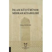 İslam Kültüründe Mihrab Kitabeleri