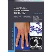 Mayo Clinic Internal Medicine Board Review