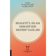 Risâletü'l-İslâm Dergisi'nde Mezhep Yazıları