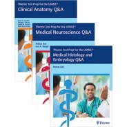 Thieme Test Prep Q&A: Clinical Anatomy + Medical Neuroscience + Medical Histology and Embryology
