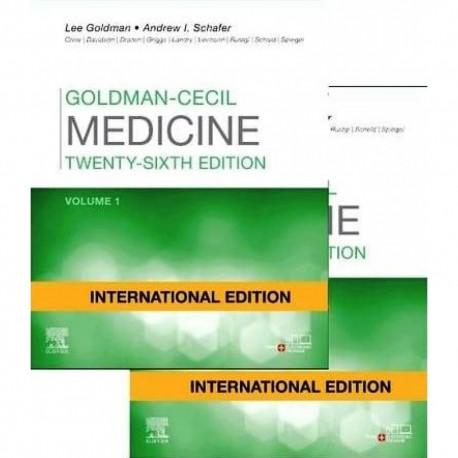 Goldman-Cecil Medicine International Edition, 2-Volume Set, 25th Edition