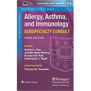 The Washington Manual Allergy, Asthma, and Immunology Subspecialty Consult 3rd Edition