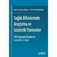 Sağlık Bilimlerinde Araştırma ve İstatistik Yöntemler (SPSS Uygulama Örnekleri ile Genişletilmiş 3. Baskı)