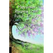 Mevsimler Risalesi Latifi Fusul-i Erbaa