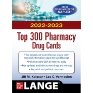 McGraw Hill's 2022/2023 Top 300 Pharmacy Drug Cards