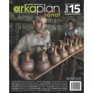 Arka Plan Sanat Dergisi 15. Sayı